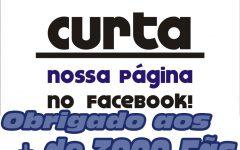 + de 3000 Fãs no Facebook. Sucesso total!!
