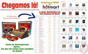Mais quentes do Hotmart