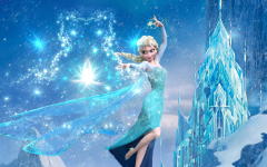 Retrospectiva Animada Tema Frozen [Novo Modelo]