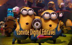 Convite Digital dos Minions