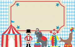Convite Digital Tema Circo