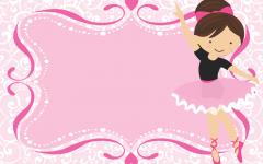 Convite Digital da Bailarina