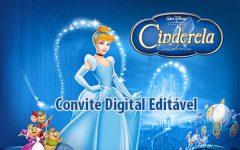 Convite Digital da Cinderela