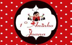 Convite Digital da Joaninha