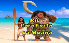 Kit Para Festa da Moana Grátis – Kit Para Imprimir Moana