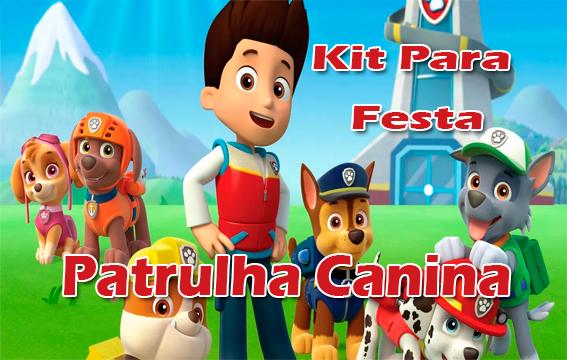 Kit Para Festa Da Patrulha Canina Para Imprimir