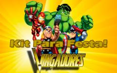 Kit Para Festa Dos Vingadores Para Imprimir