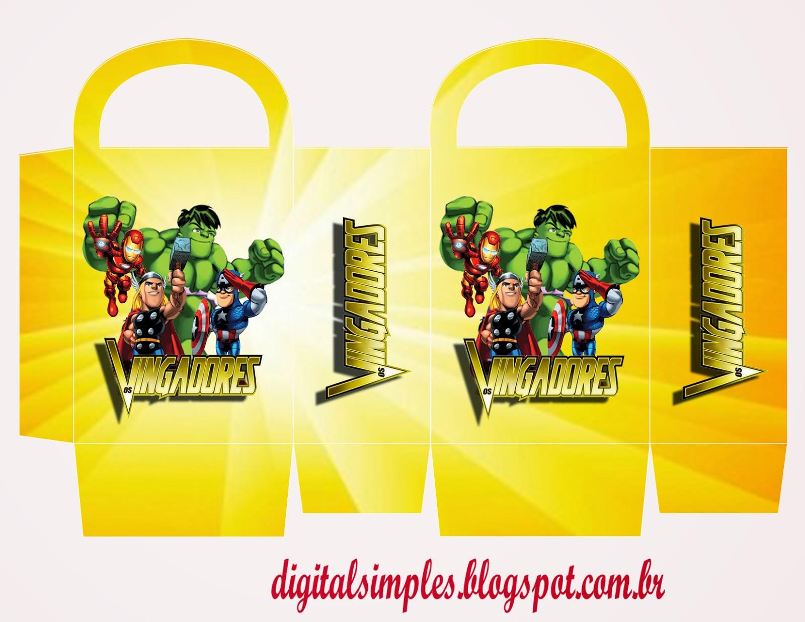 Kit Para Festa Dos Vingadores Para Imprimir Curso De