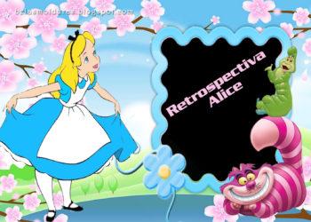 Retrospectiva Animada da Alice – Desenho | Pronta Para Personalizar